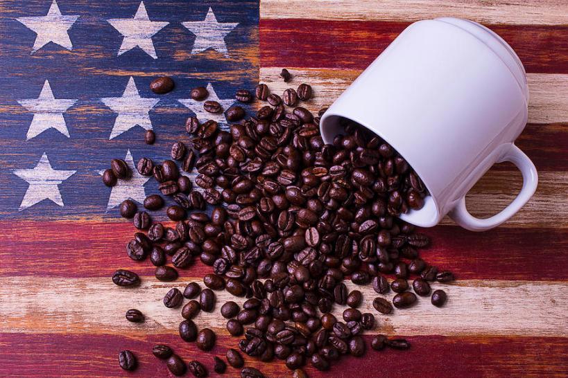coffee-american-flag